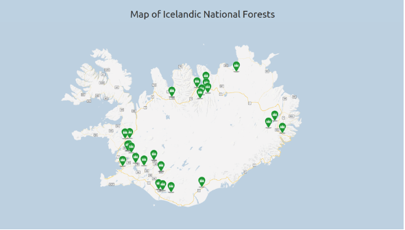 Iceland National Forests